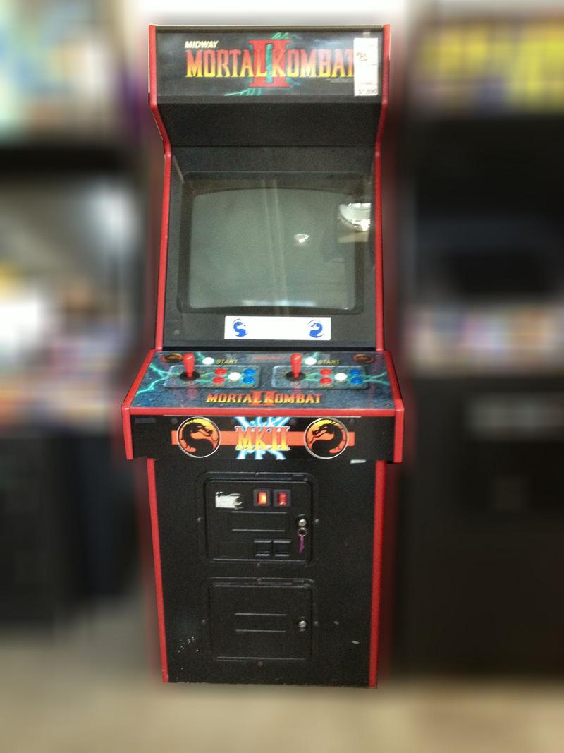 Vintage Arcade Games >> Mortal Kombat 2 arcade game for sale - Vintage Arcade