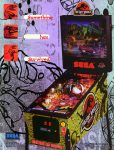 The Lost World Jurassic Park Pinball Machine
