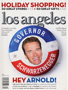 Los Angeles Magazine 2003 December Edition Cover