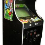 Right view of the 10 Yard Arcade Game