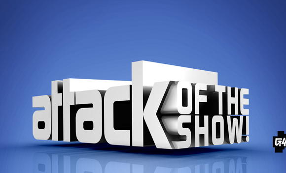 Attack Of The Show on G4 featuring Vintage Arcade Superstore