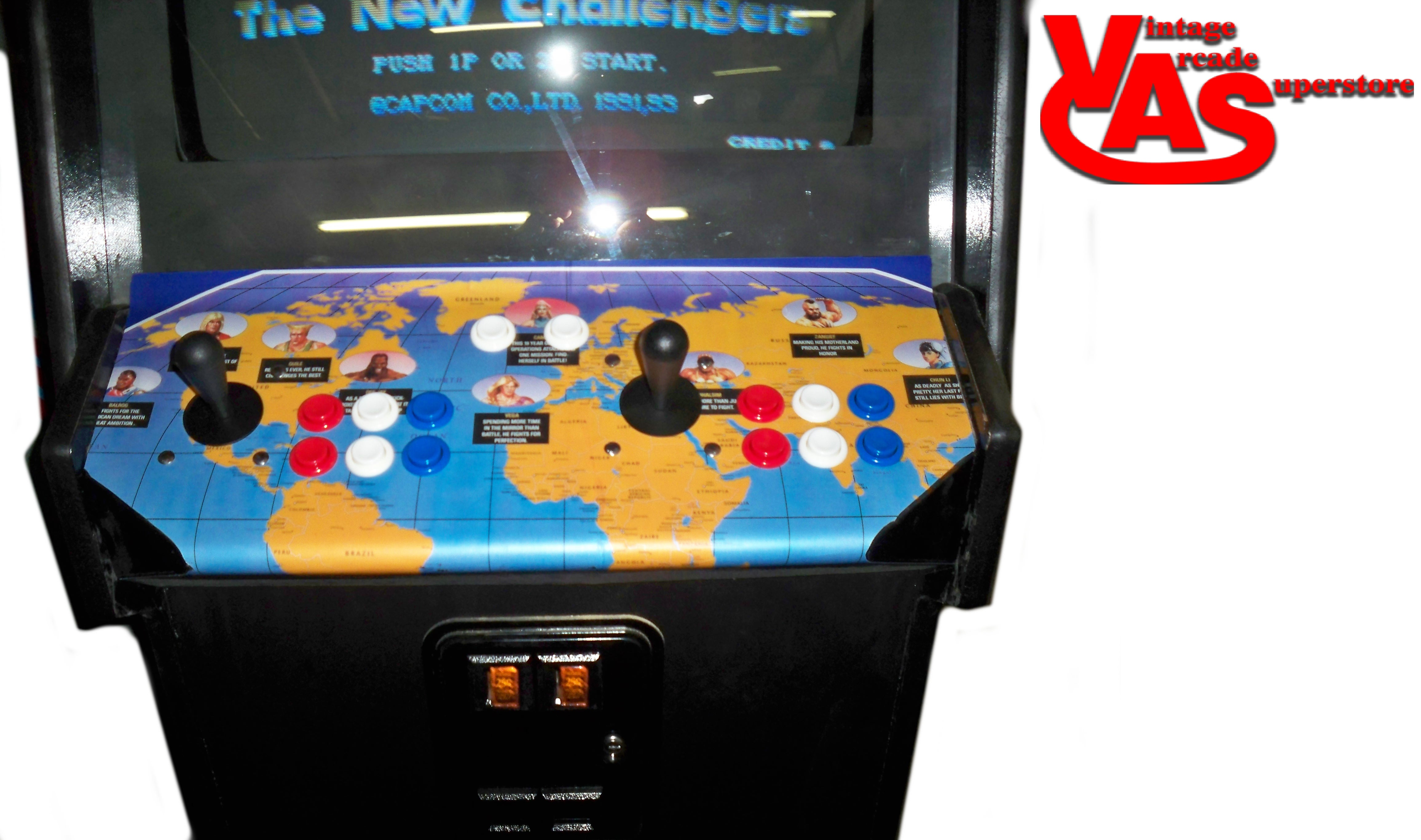 fighter 2 chion edition arcade machine for sale