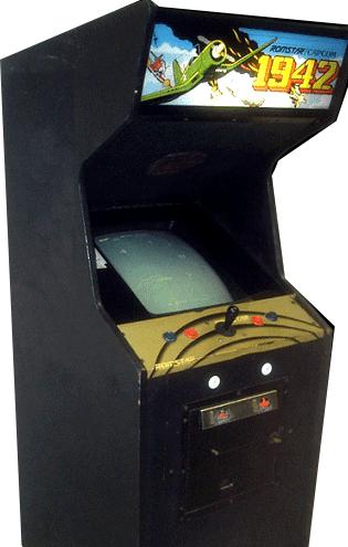 1942 Arcade Game Cabinet