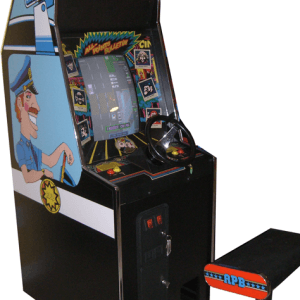 APB Arcade Game With Chair