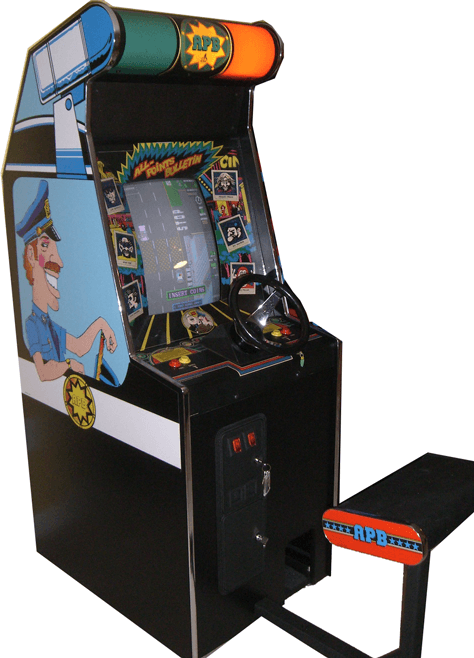 Apb Arcade Game For Sale Vintage Arcade Superstore