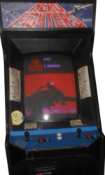 AeroFighters Arcade Game Cabinet