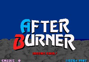 After Burner Gameplay