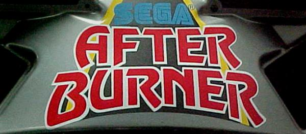 After Burner Marquee Art