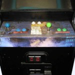 Aliens Arcade Game Front Control Panel