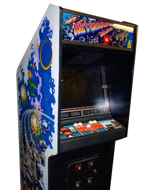 Asteroids Deluxe Arcade Game