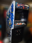 Asteroids Deluxe Arcade Game Cabinet