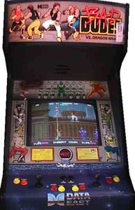 Bad Dudes Vs. Dragon Ninja arcade game cabinet2