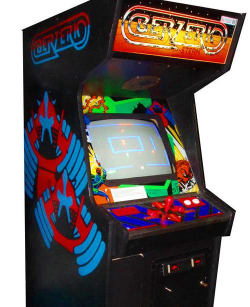 Berzerk Arcade Game