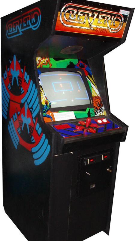 Vintage Arcade Games >> Berzerk Arcade game for sale- Vintage Arcade Superstore