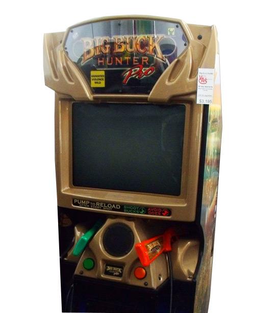 Big Buck Hunter Arcade Game