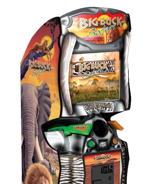 Big Buck Safari Arcade Game