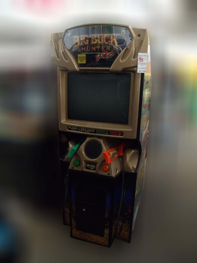 big buck arcade machine