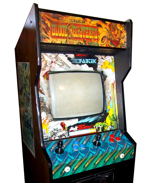 Blood Brother Arcade Game
