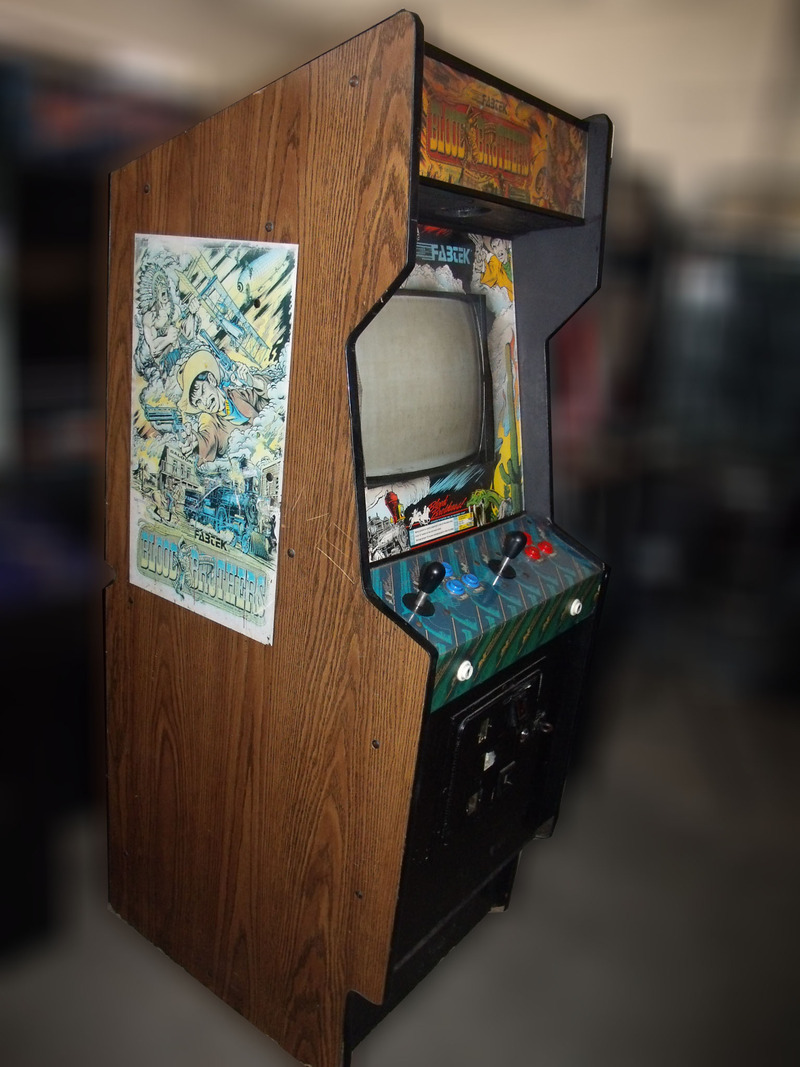 Blood Brothers Arcade Game Vintage Arcade Superstore