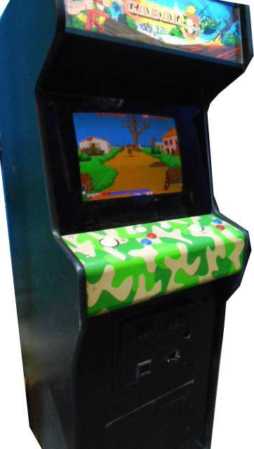 Vintage Arcade Games >> Cabal Arcade game for sale- Vintage Arcade Superstore