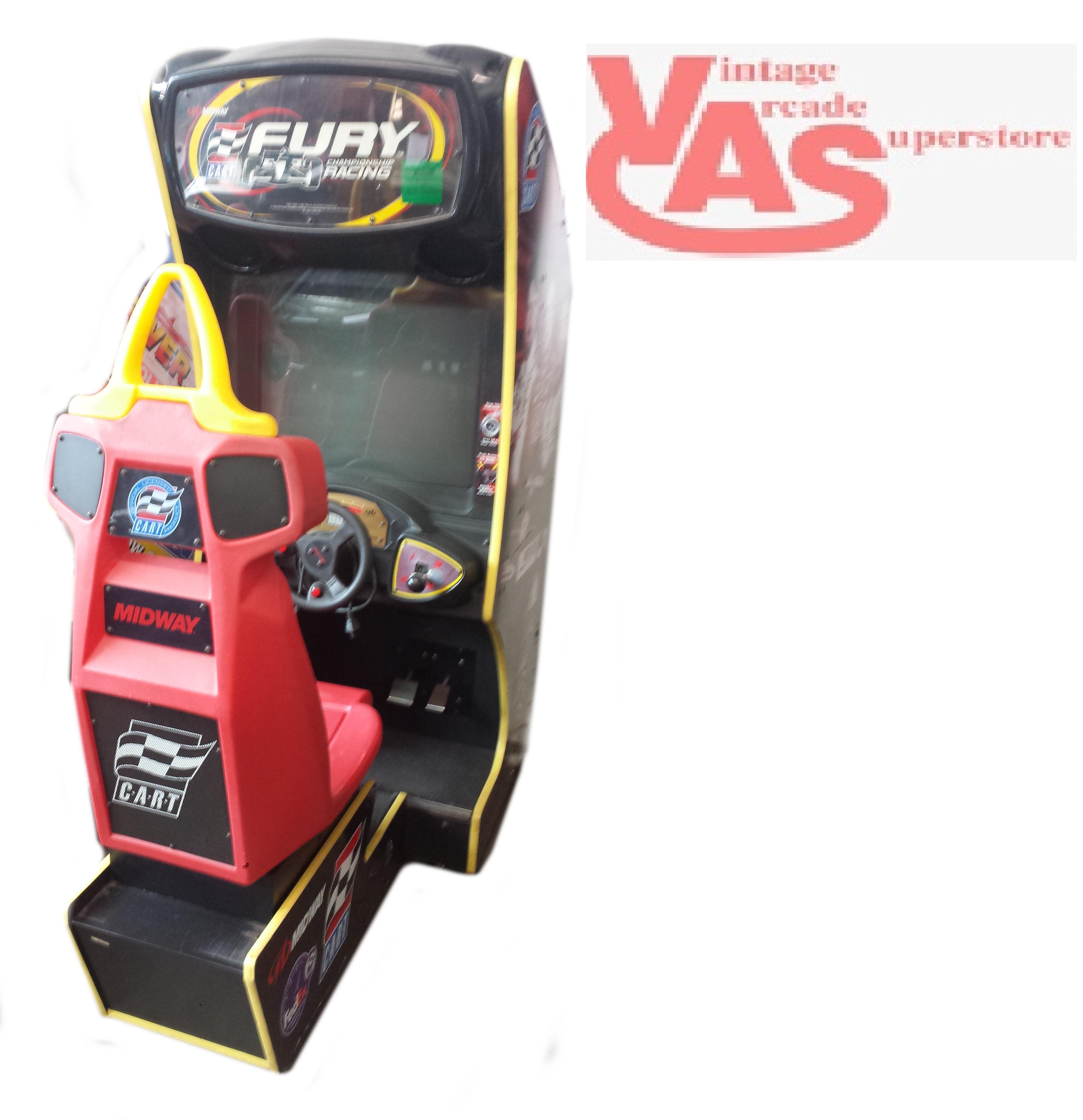 cart fury arcade game for sale vintage arcade superstore