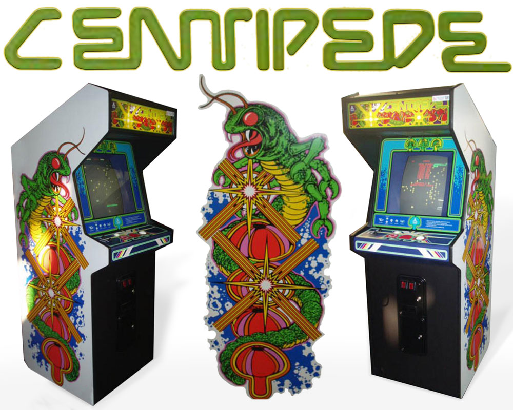 Centipede Arcade Game Machine Original Cabinet Art