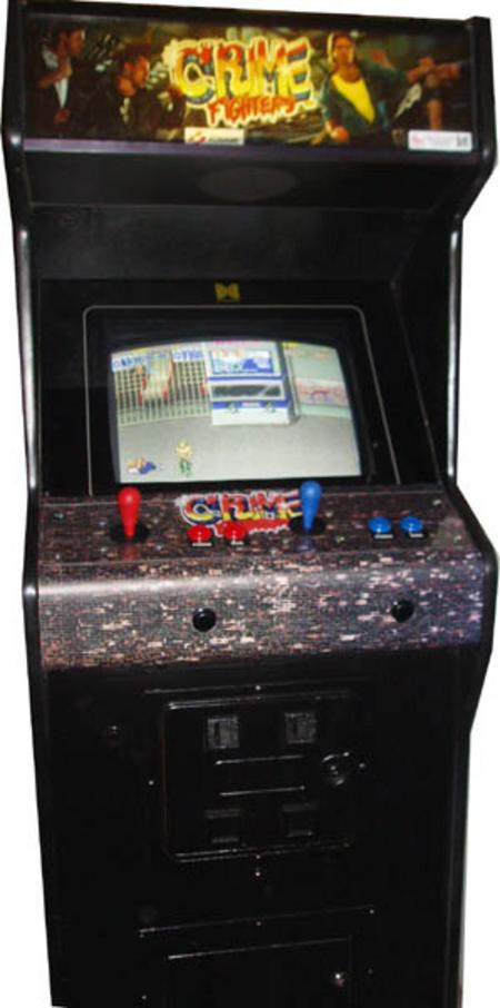Crime Fighters Arcade Game Vintage Arcade Superstore