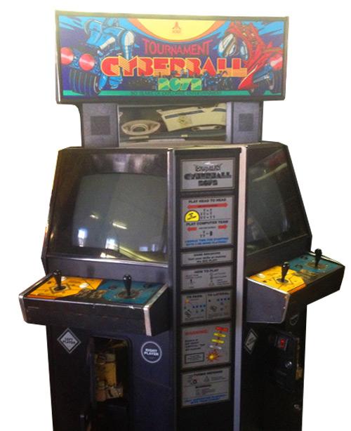 Cyberball 2072 Arcade Game