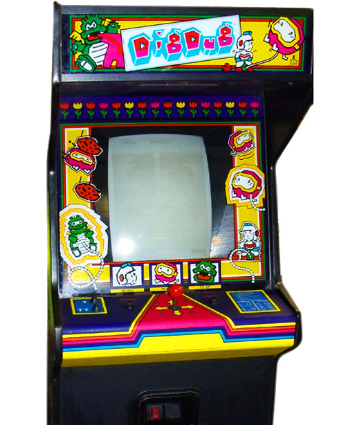 Dig Dug Arcade Game