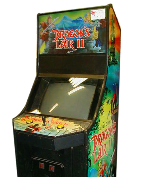 Dragon's Lair 2 Arcade Game