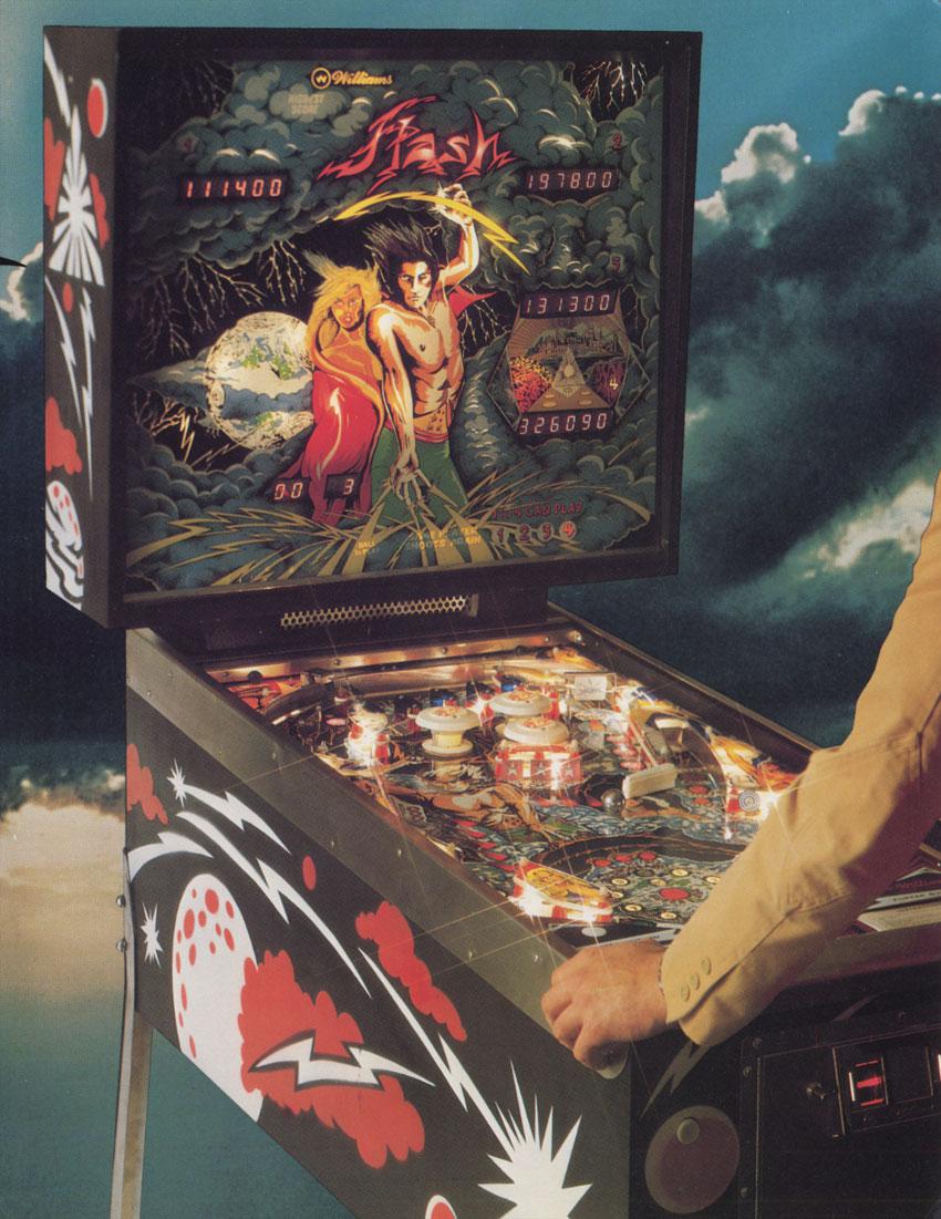 flash pinball machine for sale