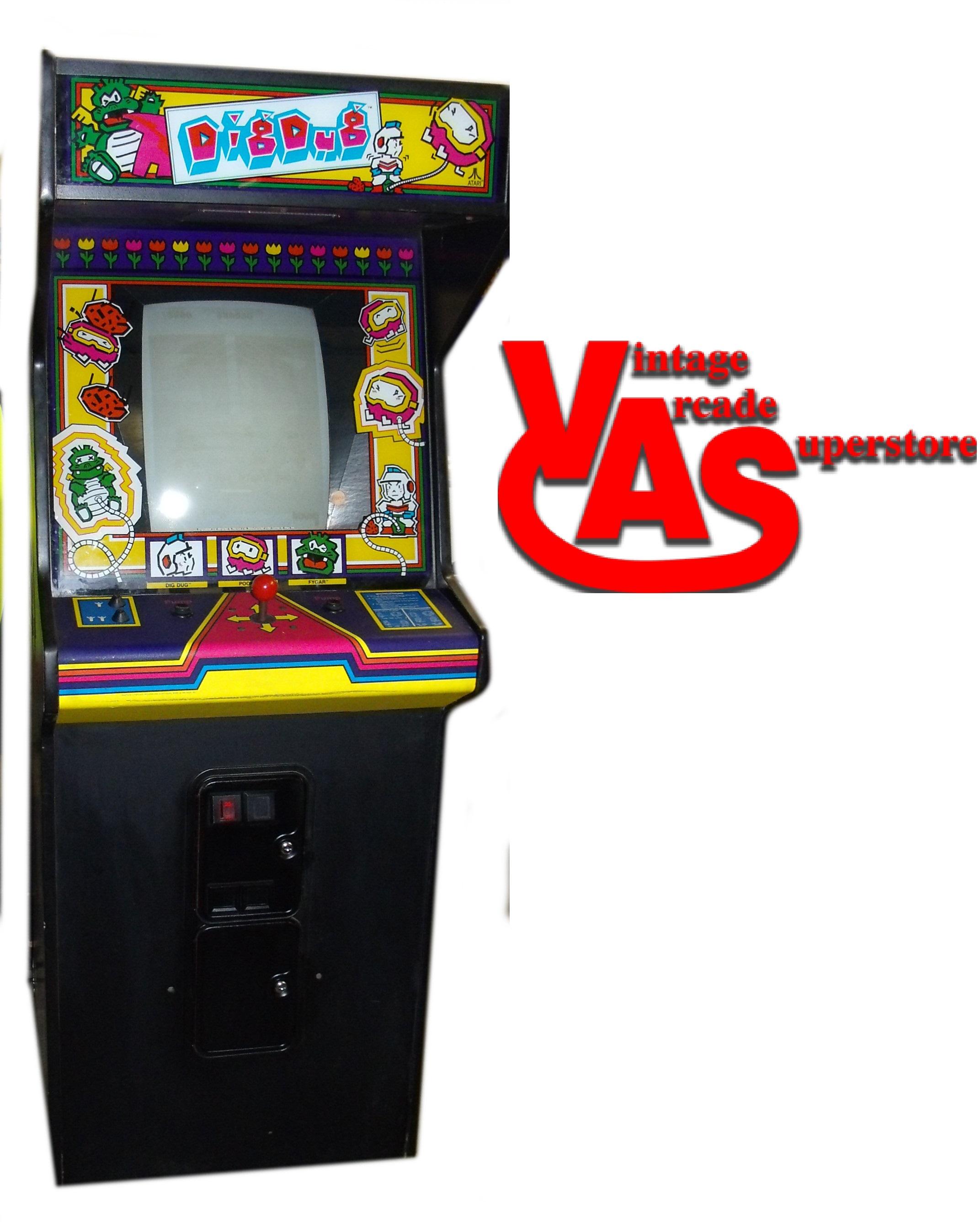 Dig Dug Arcade game for sale- Vintage Arcade Superstore