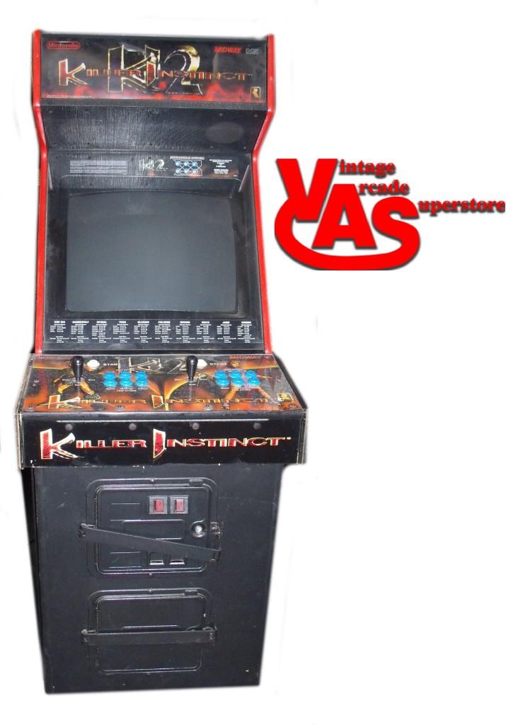 Killer Instinct 2 Arcade Game For Sale Vintage Arcade