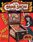 Game Show pinball flyer