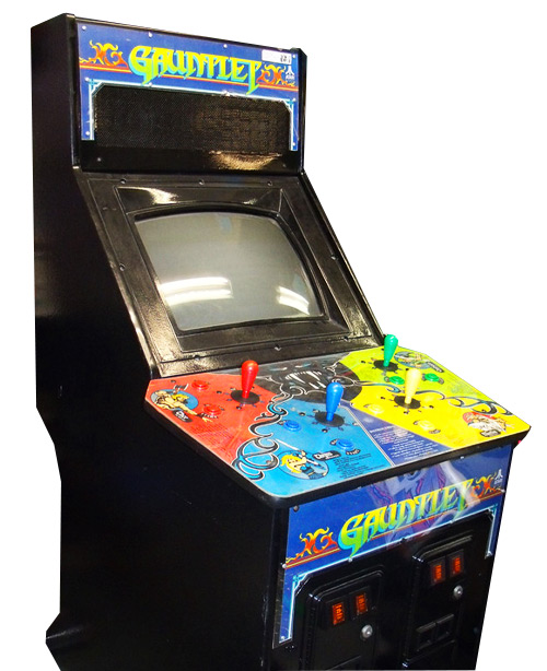 Gauntlet 4 Player Arcade Game