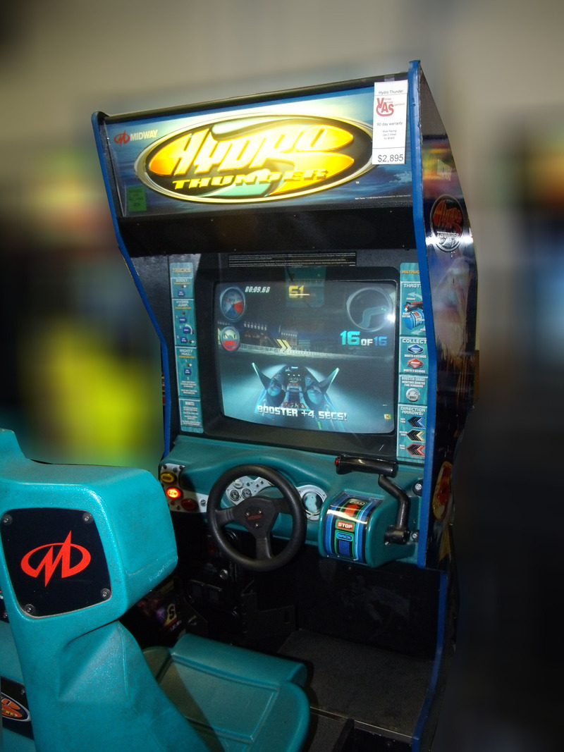 hydro thunder arcade machine