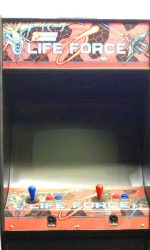 Life Force Arcade Game