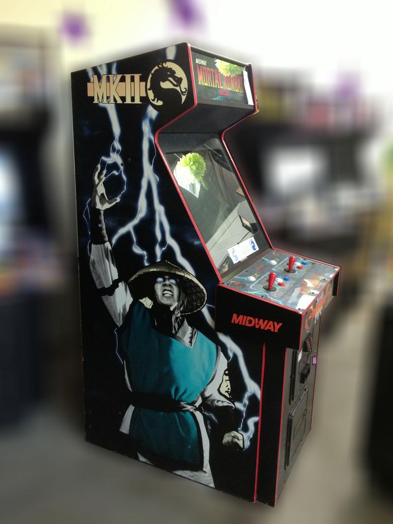 Mortal Kombat 2 Arcade Game For Sale Vintage Arcade