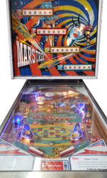 Mars Trek Pinball Machine Playfield