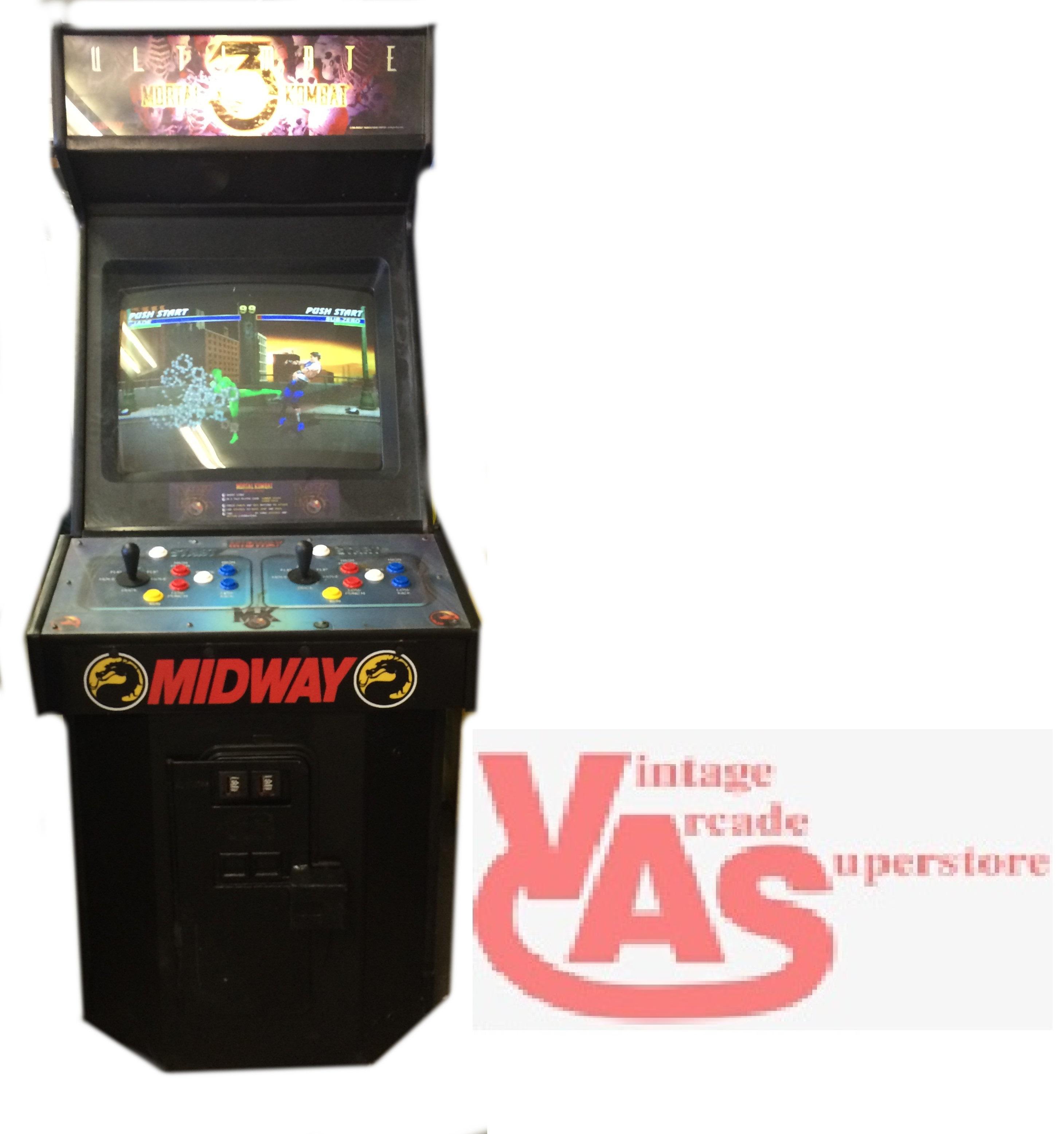 mortal kombat 3 ultimate arcade game for sale