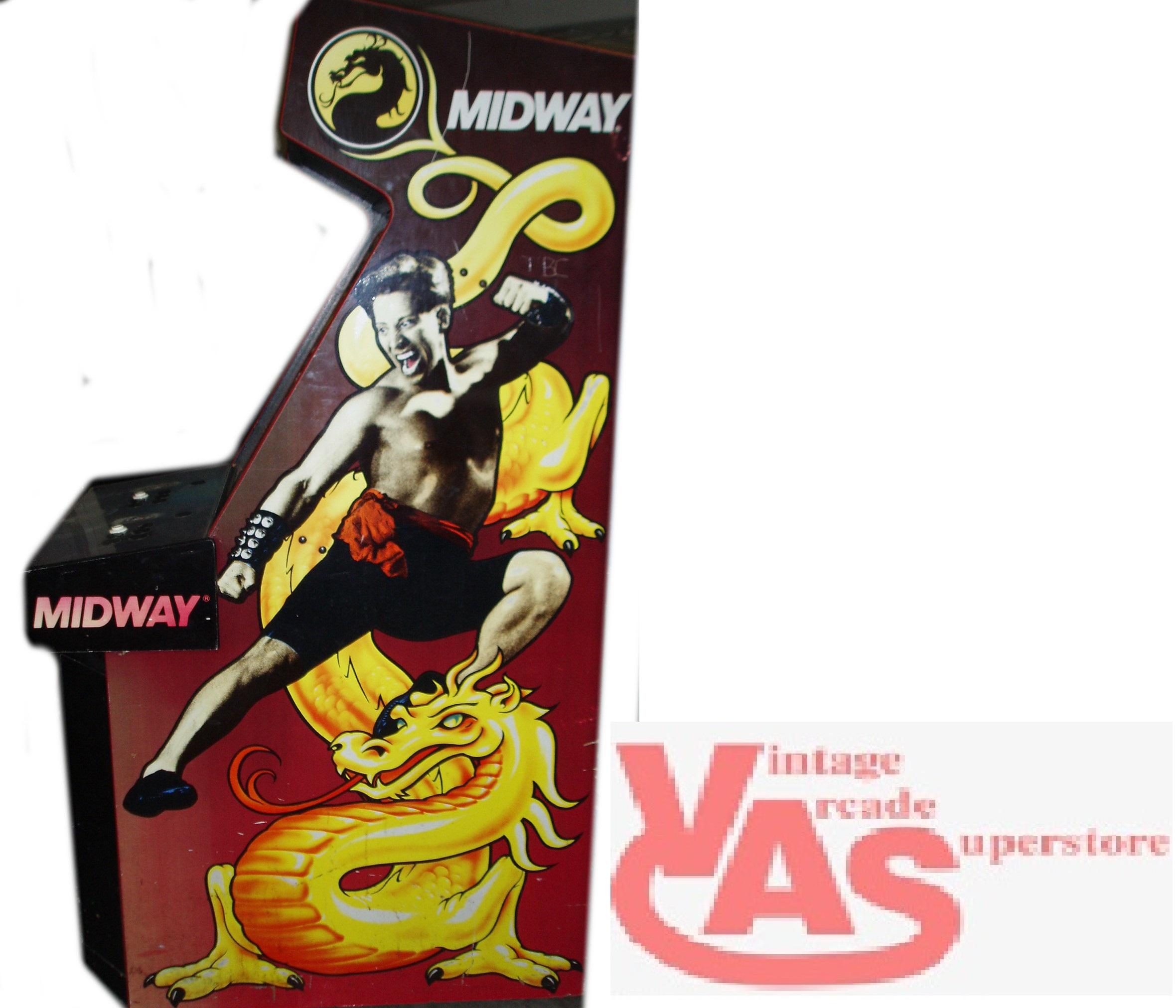 mortal kombat arcade game for sale vintage arcade