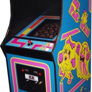 Ms. Pacman with original side art arcade game for sale
