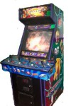 NFL Blitz 2000 Gold Edition Arcade Game Cabinet