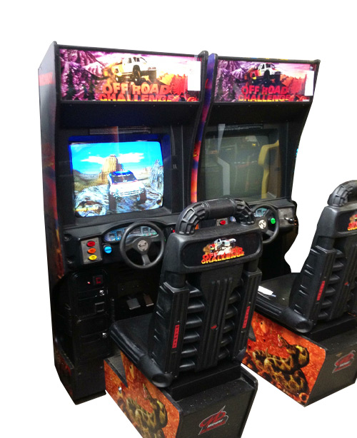 Off Road Challenge Arcade Game