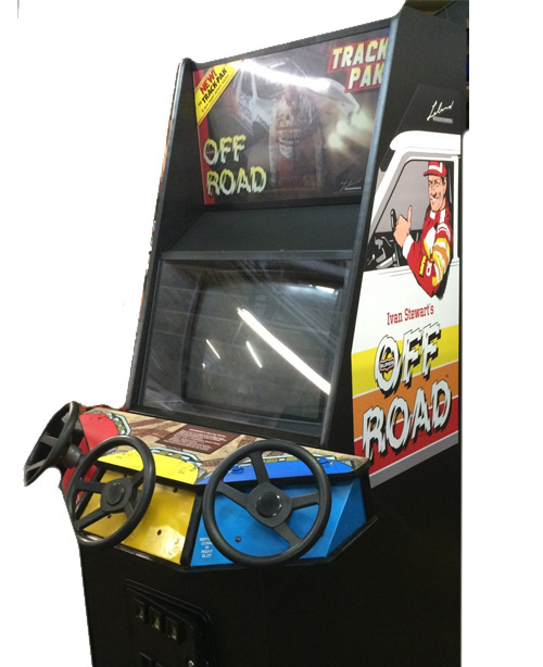 Off Road Trak Pack Arcade Game
