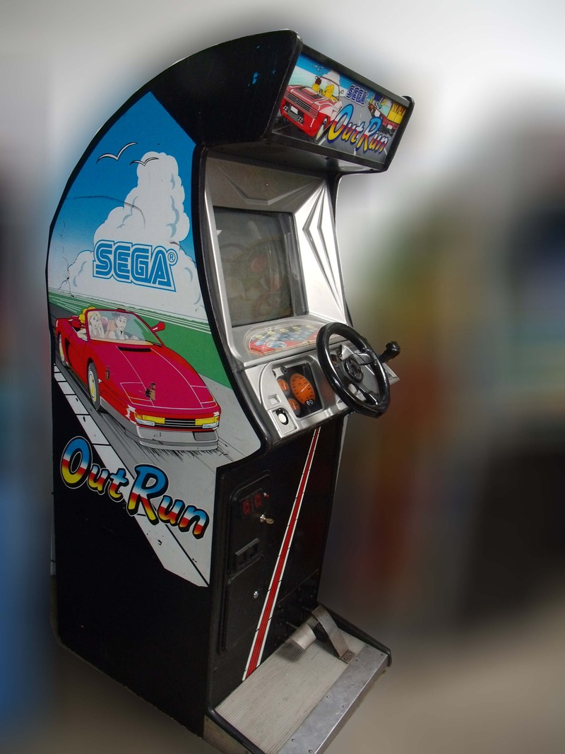 Out Run Vintage Arcade Superstore