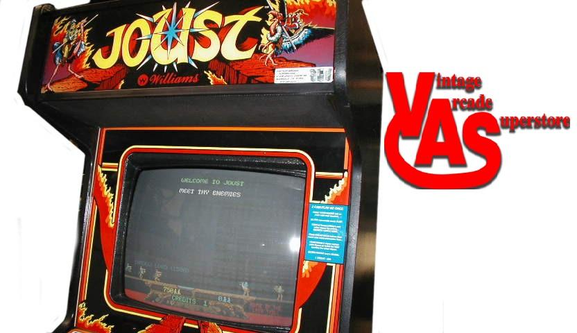 Joust Arcade Game For Sale Vintage Arcade Superstore