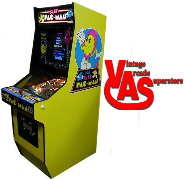 6d72391c2da93 Baby Pacman Arcade Game