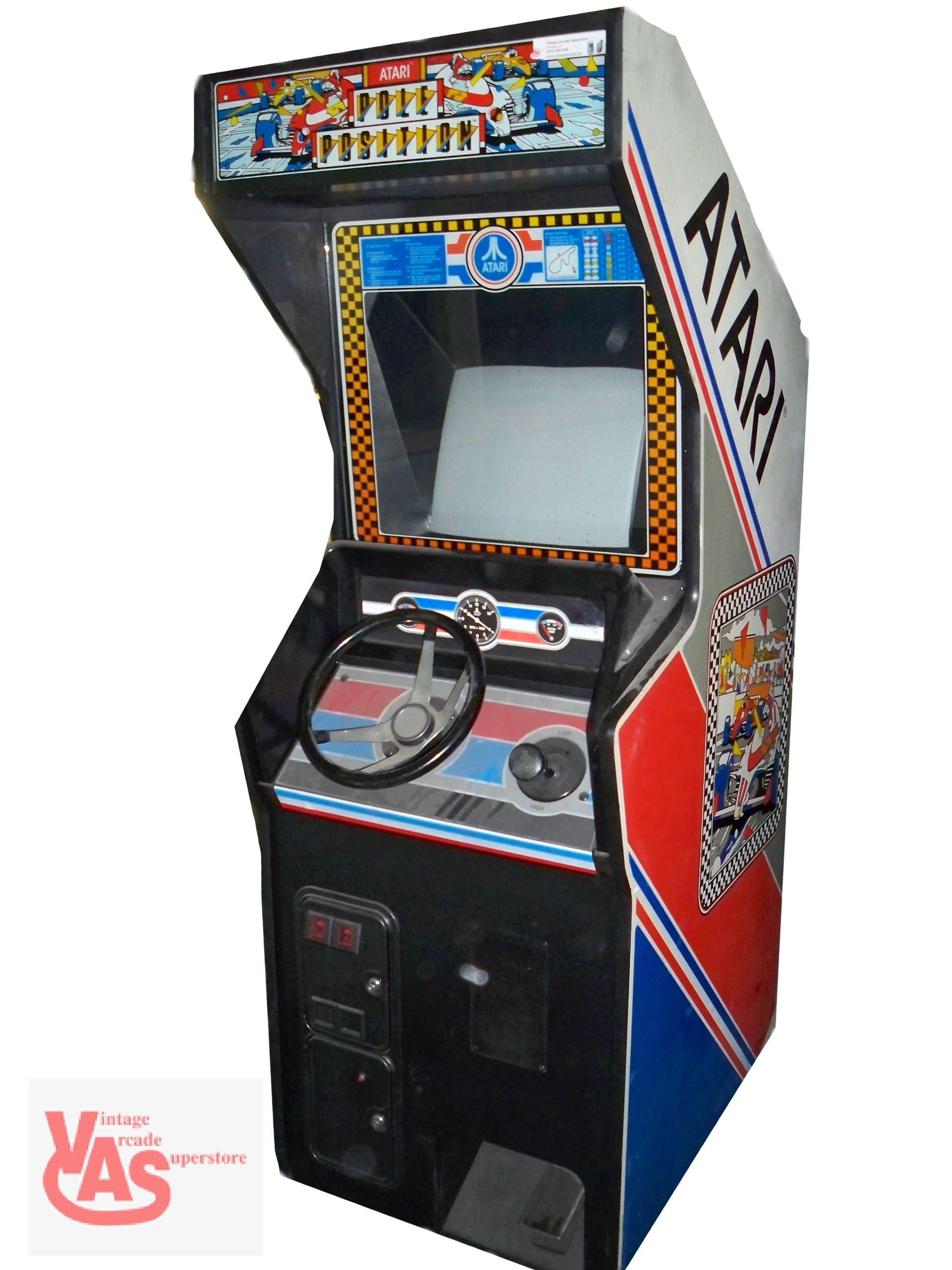 pole position arcade machine