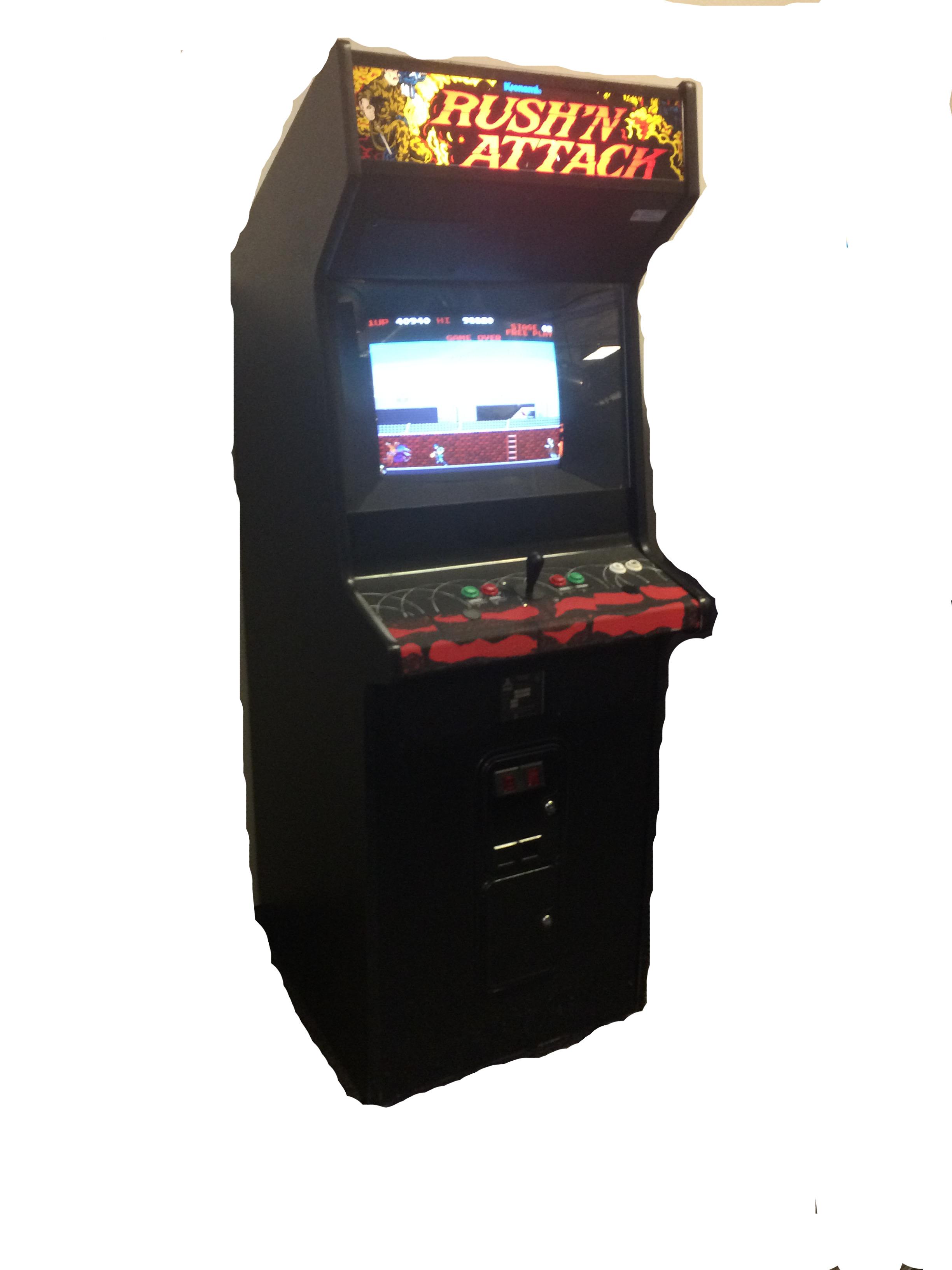 Rush N Attack Vintage Arcade Superstore